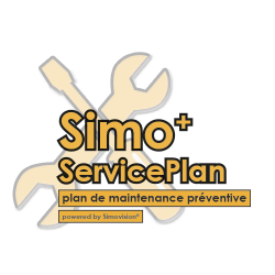 Logo ServicePlan Transparent Background SIMBEFR